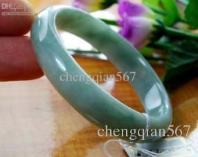 Редкий натуральный зеленый нефритовый браслет