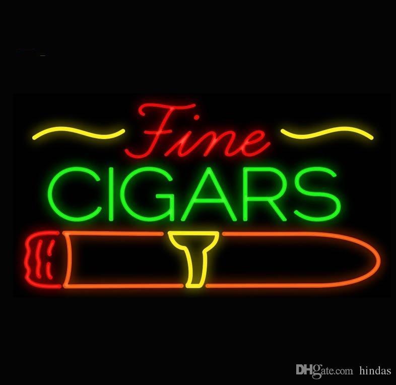 New High Life Neon Sign Beer Bar vrai signe en verre Neon Light bière rare signe New cigares Cigarette Bar Pub Neon 24x20