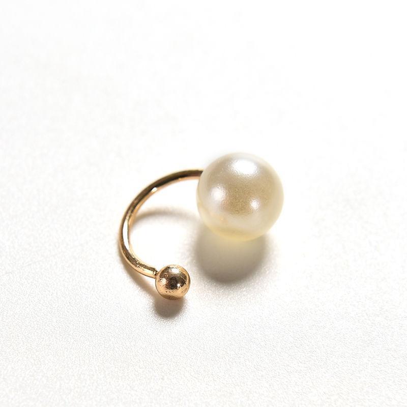 1 Unid Moda Dulce Exquisita Doble Imitación Peajes Ear Cuffs Ear Clamp Clip Pendientes para Mujeres Niñas Bijoux Regalos