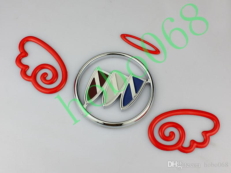 100pcs/lot Car Vehicle Decoration Angel Wings Stickers Stero Personality Exterior Accessories AUTO BODY DECAL DIY