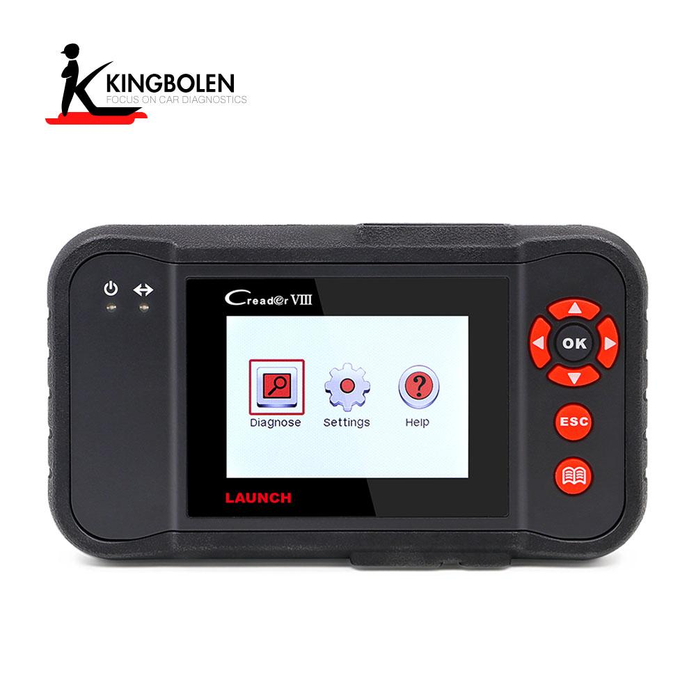 Launch X431 Creader VIII OBDII Code Reader Scanner Engine ABS SRS Transmission System OBD2 Diagnostic tool Oil Reset EPB Reset SAS Reset