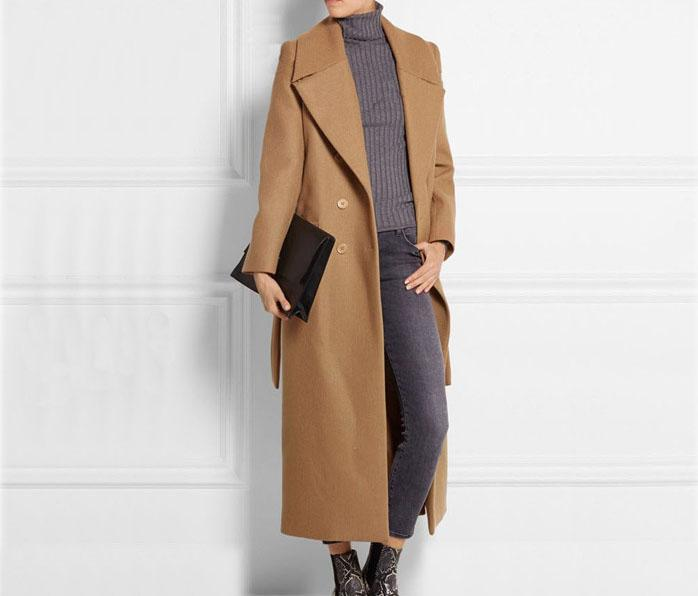 good super popular stylish design 2019 New Fashion Long Wool Coat Oversize Women Slim Cashmere Straight Hem  OverCoat Jacket Design Femininos Maxi Winter Coat From Fashionfirst, $51.56  ...
