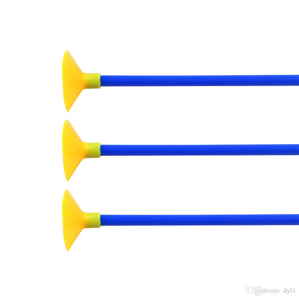 "23/"" Children Sucker Arrows Suction Cup Archery Game Practice Fun Toy Shooting"