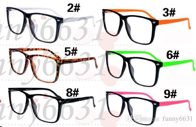 Occhiali da sole di alta qualità in vetro Occhiali da sole protezione UV400 Occhiali da sole Moda uomo donna occhiali unisex Marca Occhiali da sole 9 COLORI