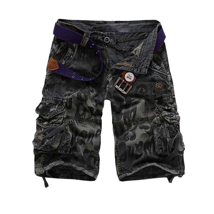 Gros-Top qualité livraison gratuite hommes shorts cargo short pantalons hommes 3 couleurs 28-38 A2292