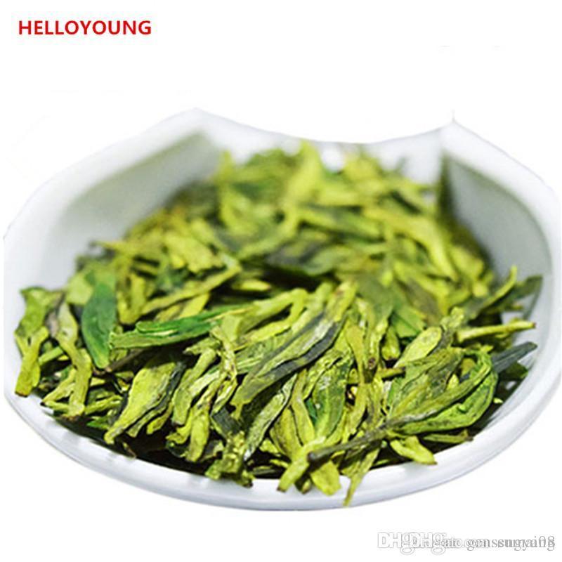 Preferencia 250g orgánico chino del té verde principios de la primavera del pozo del dragón del té Fragance Raw Health Care Nueva Primavera Té Verde de Alimentos