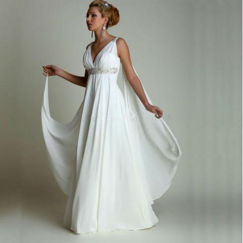 Robe De Mariage Gothic Style Vintage Beach Maternity Wedding Dresses For Pregnant Women Plus Size