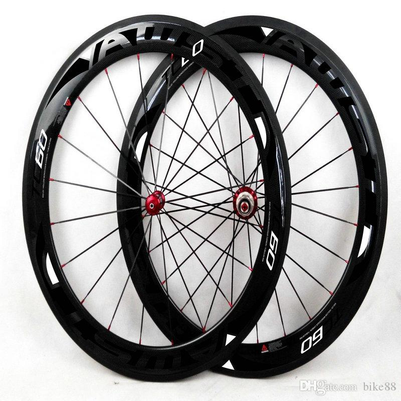 AWST toryca T800 full carbon fibre road bike wheels 60mm tubular wheelset calliper bicycle carbon wheels BOB 700C 23mm width free shipping