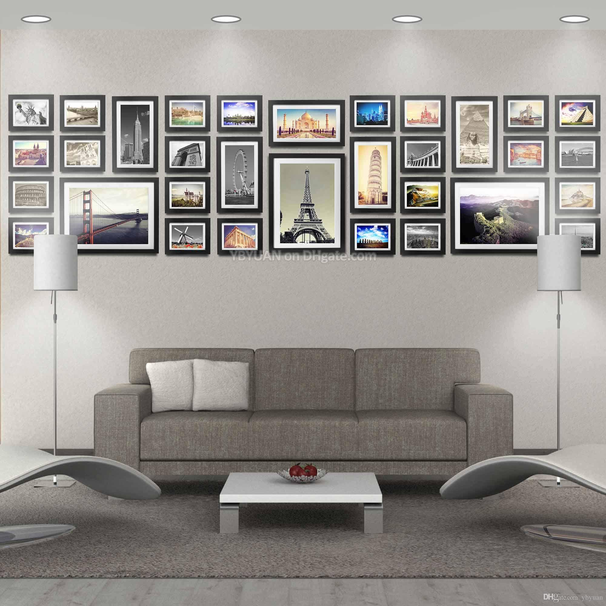 modern NEW Picture frame Moulding PHOTO wood retro ART
