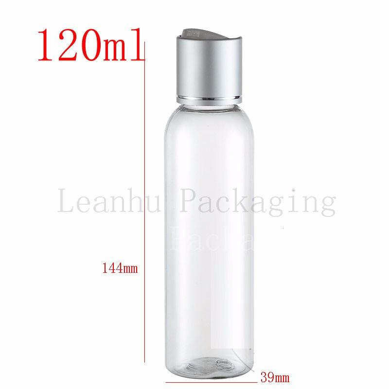 120ml-transparent-bottles-with-silver-disc-top-cap