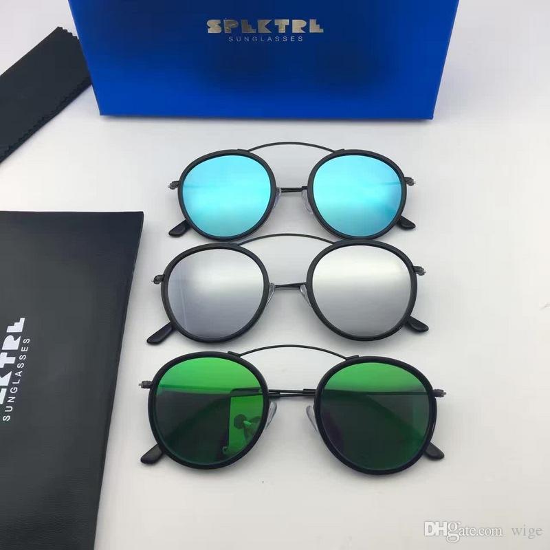 SPEKTRE Солнцезащитные очки Met-RO 2 Rotondi Круглый металло Металлический Унисекс Новый Без коробки