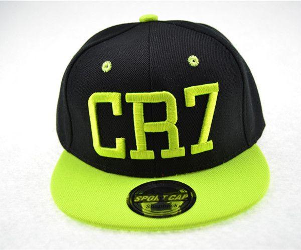 Großhandel-Cristiano Ronaldo CR7 Baseballmützen Baumwolle Cr7 Caps Snapback Hip Hop Mode Hut Männer Baloncesto Caps Knochen Hysteresen Snap