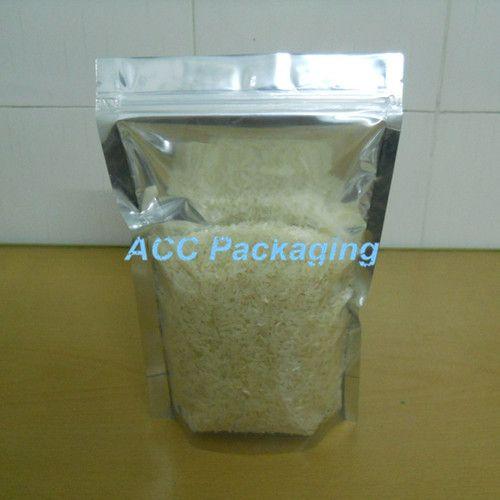 16x24cm ziplock mylar tenir le papier d'aluminium sac d'emballage transparent sac de rangement d'emballage de nourriture de café de poche d'emballage pour le casse-croûte de café