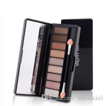 Bela Paleta Da Sombra Tone Earth Smokey Smokey paleta de Sombra de Longa Duração À Prova D 'Água Maquiagem Paleta Multicolor Maquiagem kit