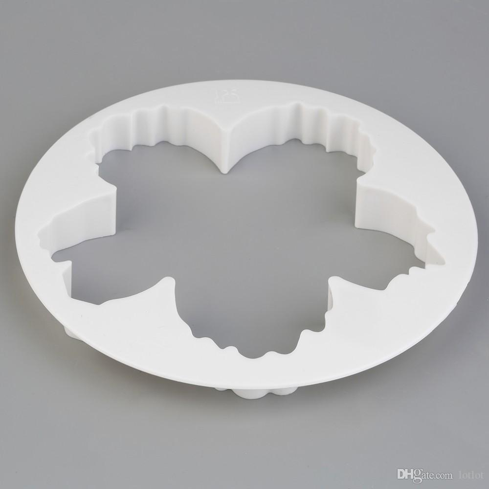 4PS Peony Petal Mold Cutter Flowers Cake Gum Paste Decorating Moulds DIY Cookie Sugar Fondant Cutter Cake Decoration