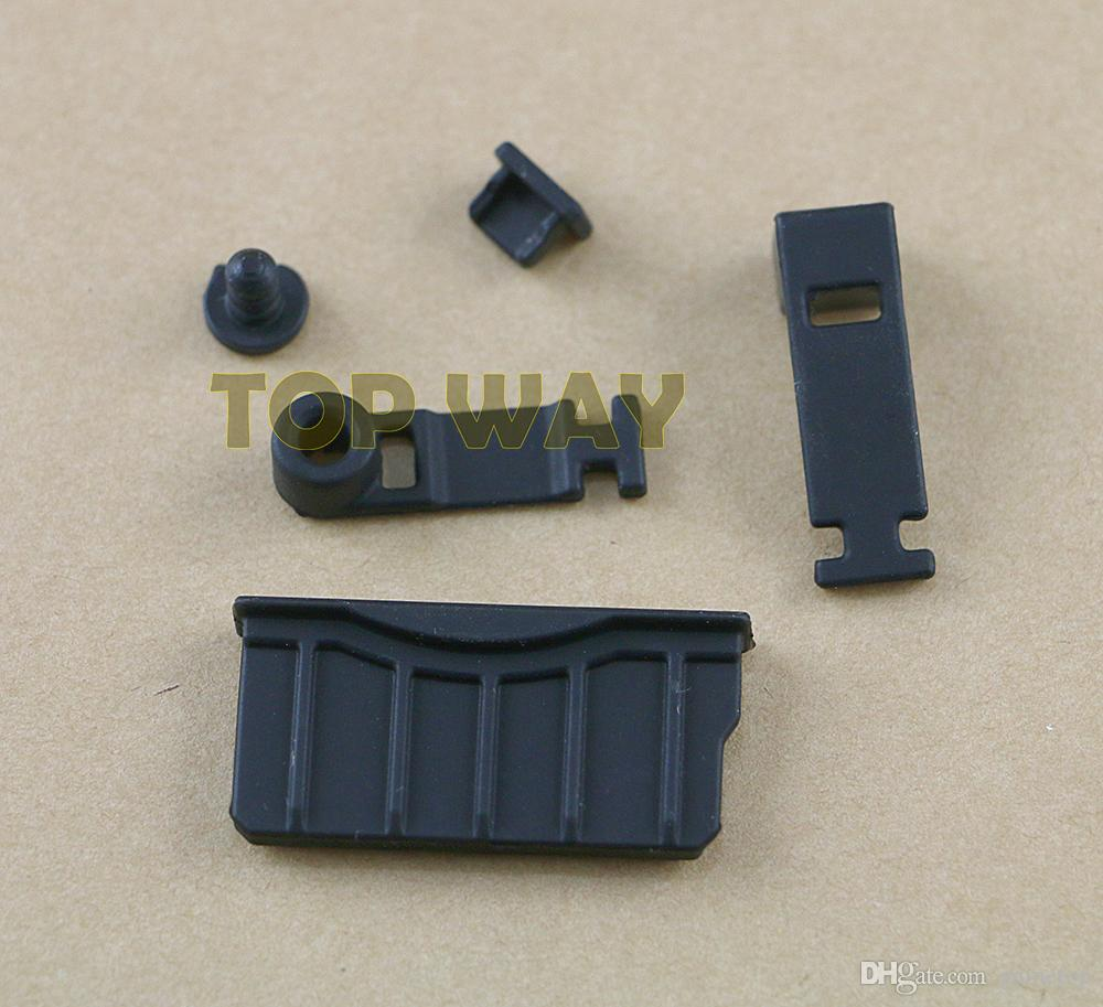 Silicone anti spina della polvere auricolare Jack Charging Dock Proof Protector Cap per New 3DS XL LL Nuovo 3DSXL 3DSLL