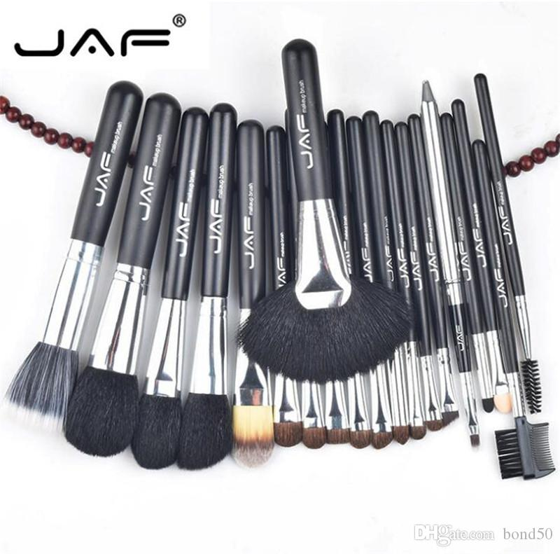 JAF 20pcs/set Makup Brushes Premiuim Natural Hair of Goat Pony Horse Super Soft Makeup Brush Tool Set J20001