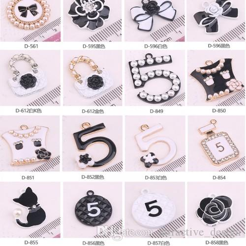 30 Pieces Handmade DIY Pendants Necklace 2018 HOT Christmas Children Birthday Gift Beads Jewelry Findings Charms Free Shipping D021