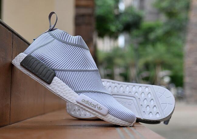 Adidas Nmd R1 Pk (gum Bottom) Size 9 Ds