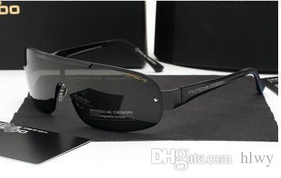 Conducción Polarizer Star Glasses Sunglasses 8716 Hombres Rana Espejo de Gafas de Sol RRFAV
