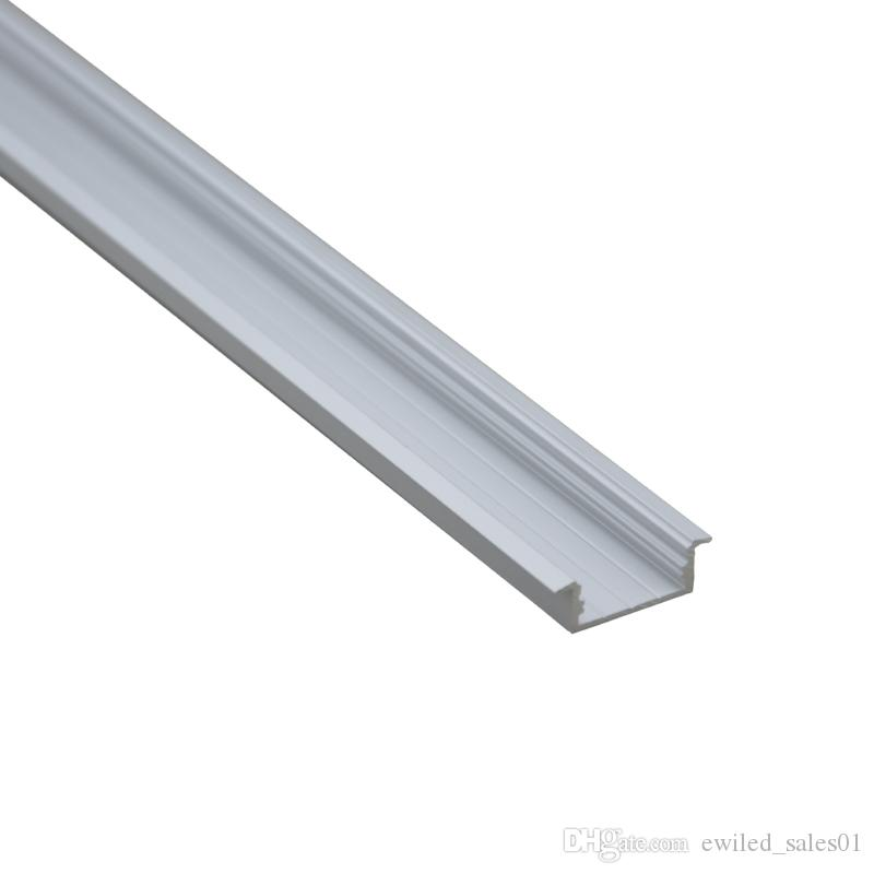 10 X 1M sets/lot Al6063 T type aluminum extrusion for led strip lights and aluminium channel profiles for ceiling or wall lamps