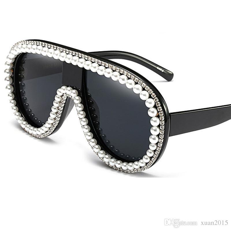 Mode Femmes Marque Designer Bijoux Lunettes de soleil strass Rim Designs Des lunettes de soleil UV400 Y05