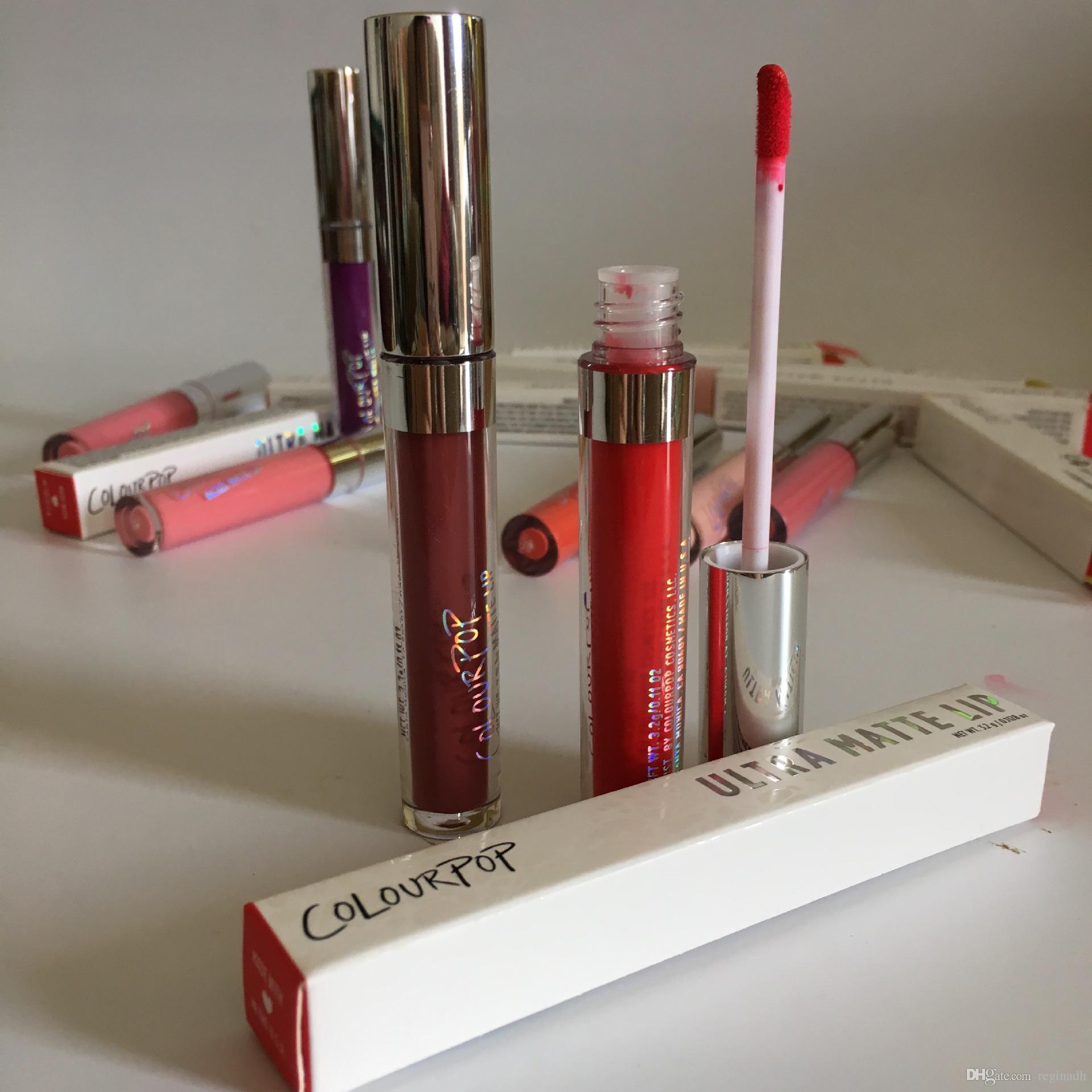 24 Colors Colourpop Lip Gloss ULTRA MATTE LIQUID LIPSTICKS Various colors Long Lasting lips Colour pop lipgloss
