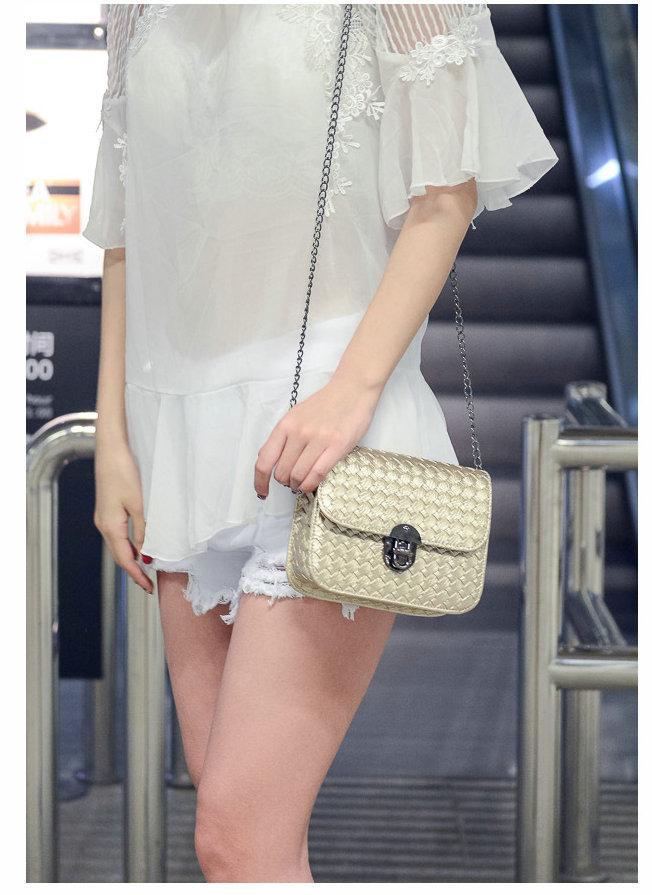2017 Floresan Renkler Kadınlar Cep Telefonu Çanta Moda Küçük Değişim Çanta Kadın Dokuma Toka Omuz Çantaları Mini Messenger Çanta