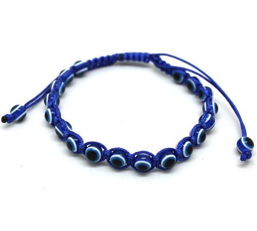 Großhandels-Art und Weise preiswertes Schmuckarmbandcharme-Armband böser Blick Mehrfarbenbortenarmband für Liebhaber