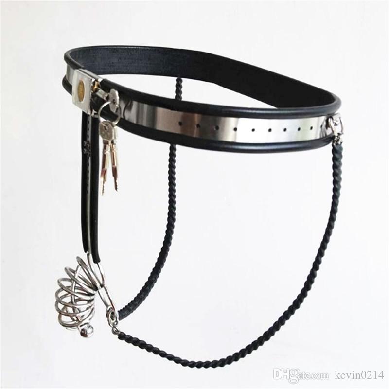manica del pene con cinturino)