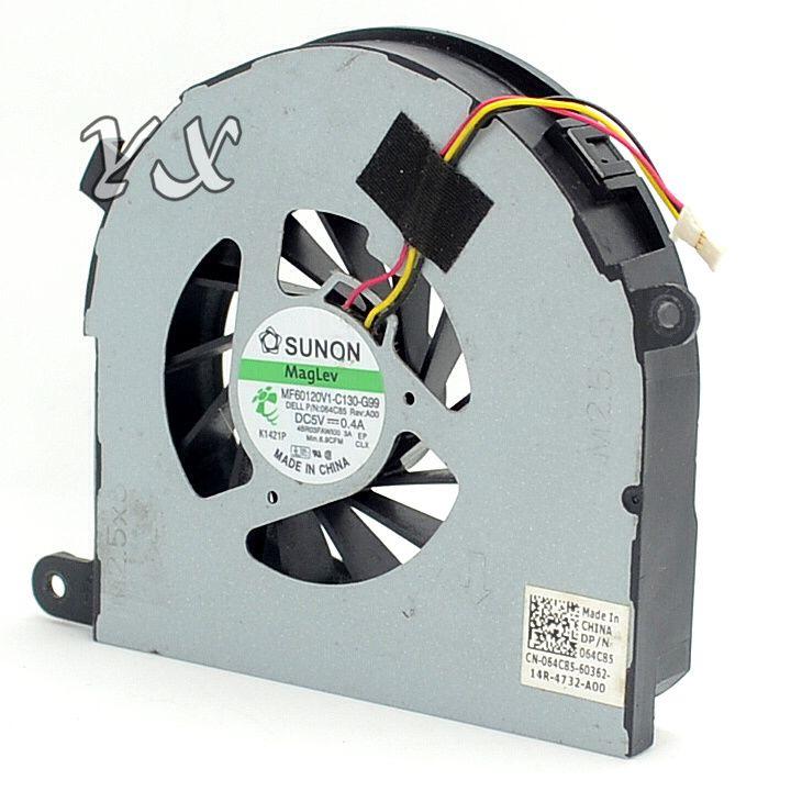 Новый вентилятор охлаждения процессора для ноутбука Dell Inspiron 17R N7110 Кулер вентилятора охлаждения процессора MF60120V1-C130-G99 064C85