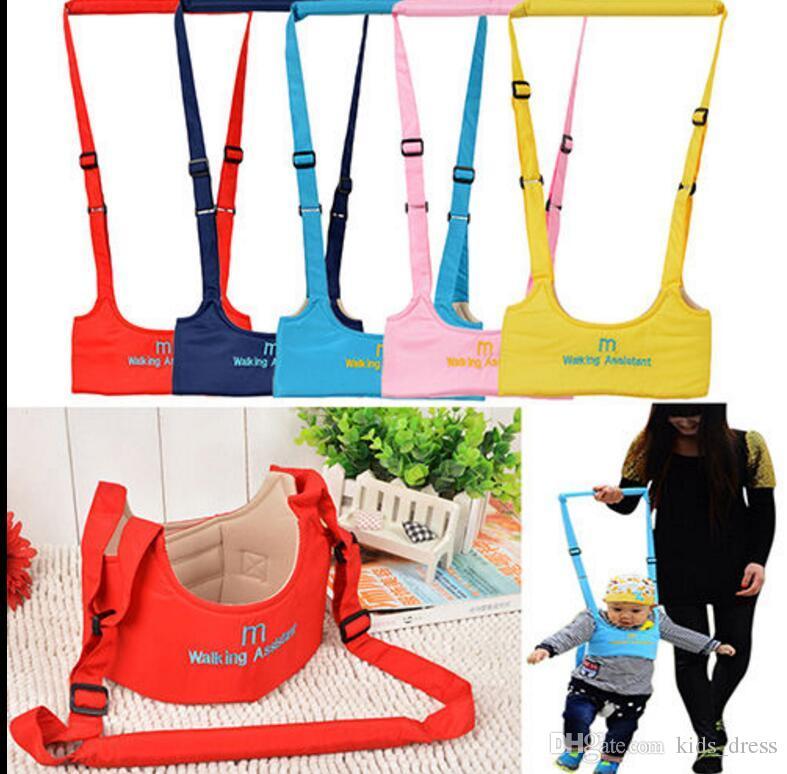 Ceinture enfant Safe marche réglable Sangle Laisses bébé d'apprentissage Marche de sécurité Ailes Keeper adjoint Sangle Harnais Sangle Ceinture KKA3196