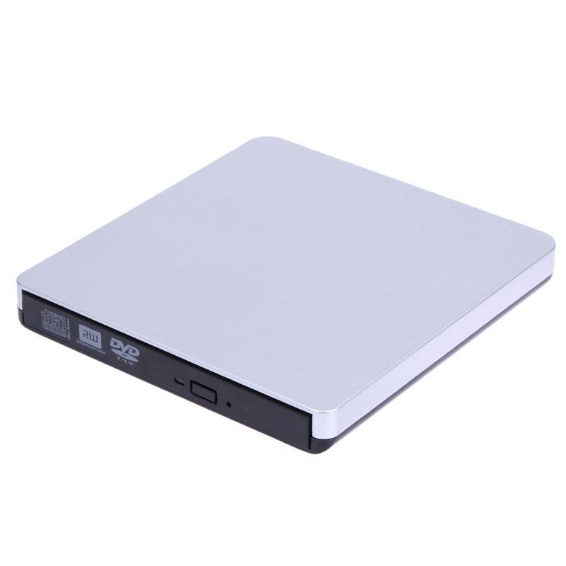 Freeshipping USB 3.0 Slim External DVD-RW DVD Writer Hard Drive for Macbook Pro Air PC Laptop Netbook High Quality