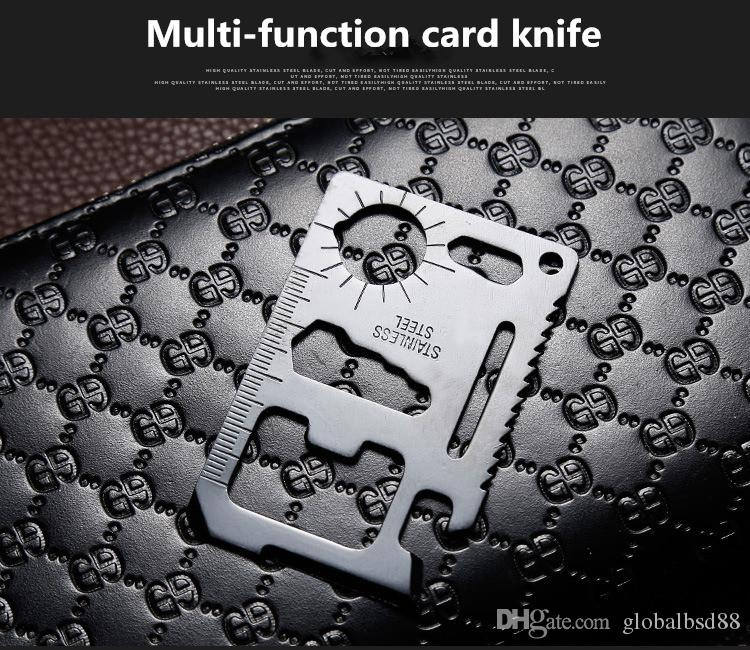 11 in 1 Army Card Wallet Purse Pocket Multi Function Tool Survival Camping Trip