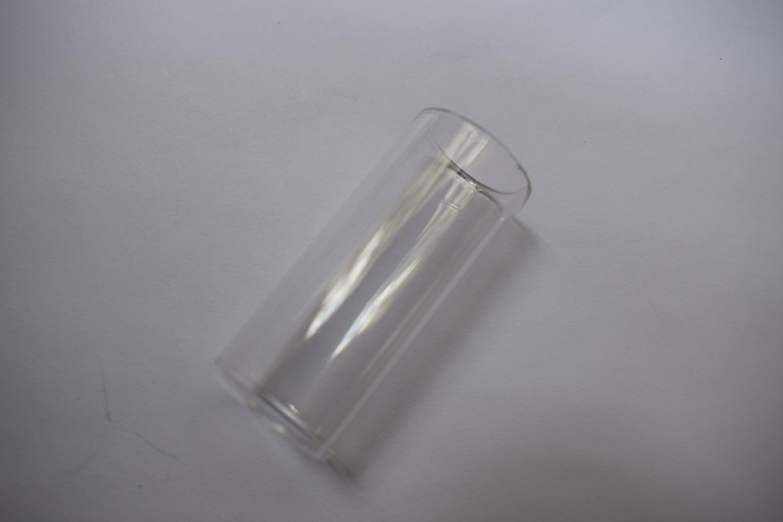 Slide de junta de vidro de guitarra útil transparente deslizamentos de dedo de guitarra clara