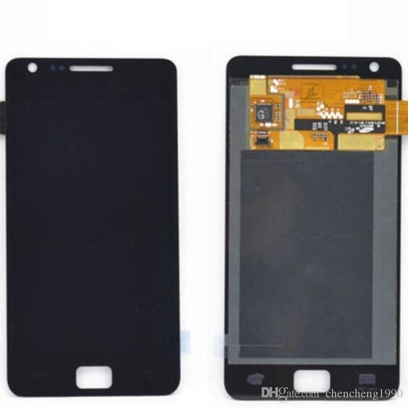 For Samsung Galaxy SII S2 i9100 LCD Display With Touch Screen Digitizer Assembly Parts A+++ Quality Free Shipping