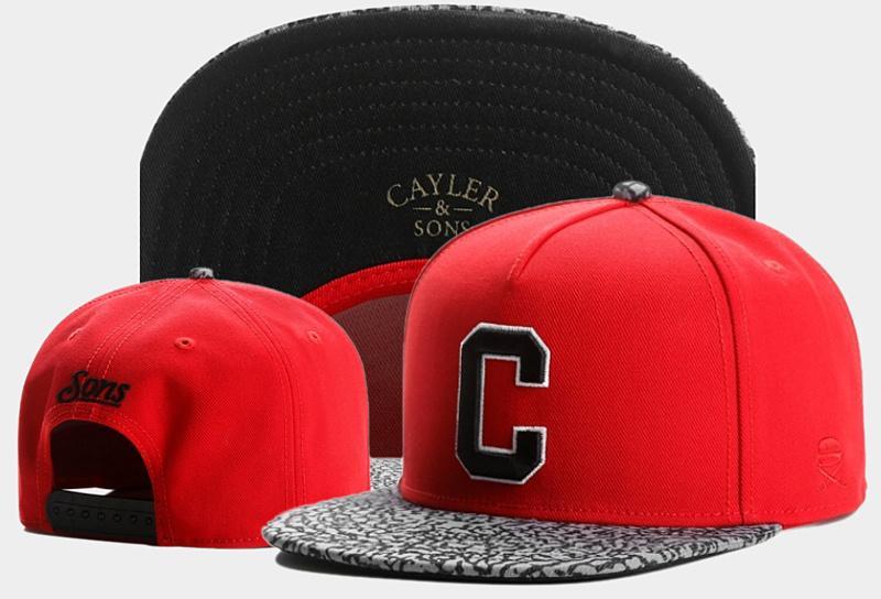 Date Cayler Sons Snapback Caps Hommes Femmes Marque Nom Ball Caps Discount Mode Unisexe Snapback Chapeaux Vente Chaude En Ligne