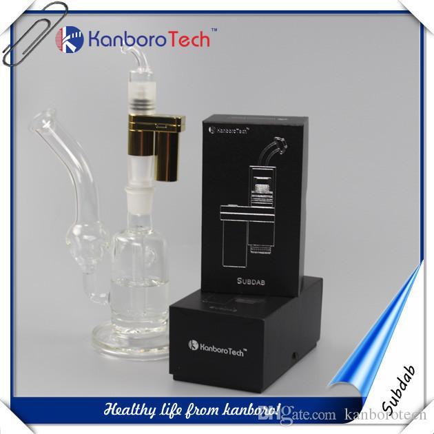 narguilé en verre avec led 510 ongles vaporisateur de cire Mod kanboro remise style 80-200 W power box mod et contrôle de la température ..