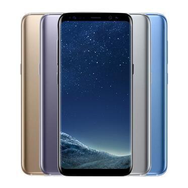 "Original Samsung Galaxy S8 G950U G950F Desbloqueado Cell Phone RAM 4GB ROM 64GB Android 7.0 5.8"" 2960x1440 telefone 12.0MP remodelado"