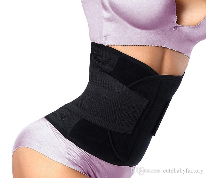 Women Waist Trainer Belt Belly Band Belts Hot Body Shaper After Birth Slim Belt Corset Postpartum Tummy Trimmer Body Fat Burne