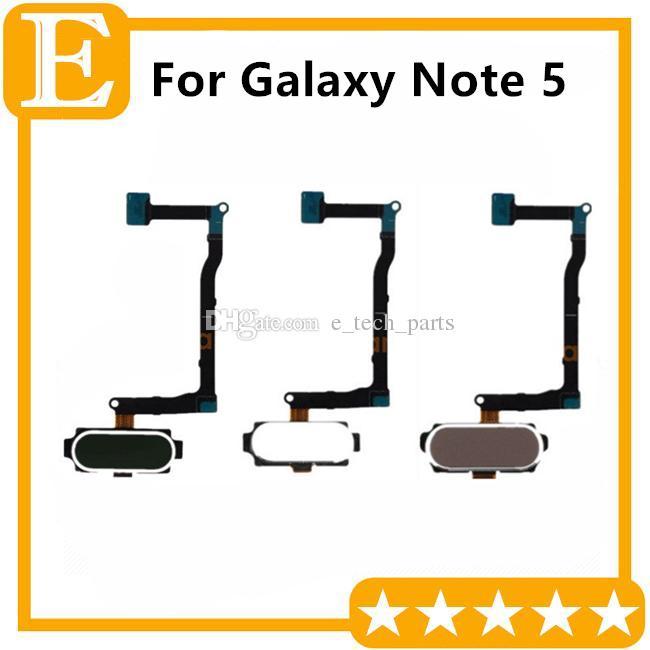 5 قطع الكثير لسامسونج غالاكسي ملاحظة 5 N9200 N920V مقابل N920A N920T N920F العودة العودة زر القائمة الرئيسية لوحة المفاتيح الكابلات المرنة