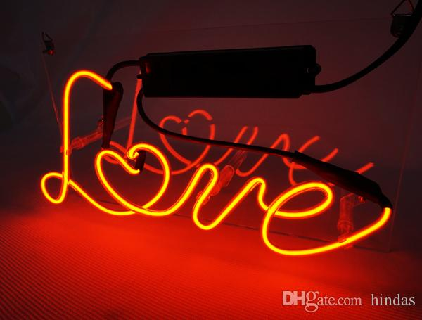 New HIGH LIFE Neon Beer Sign Bar Sign Real Glass Neon Light Beer Sign TN031-Love 11.8x6.3 001