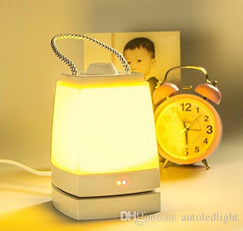 Energy saving LED charging small night light/lamp of bedroom the head of a bed/sleep little that move light/emergency hand lamp
