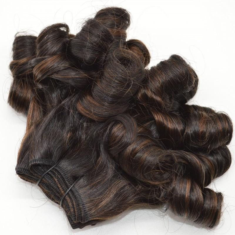 Malaysian Mix Color Funmi Hair Weft 3 Bundles 8-30 inch Funmi Hair for Black Women FDSHINE
