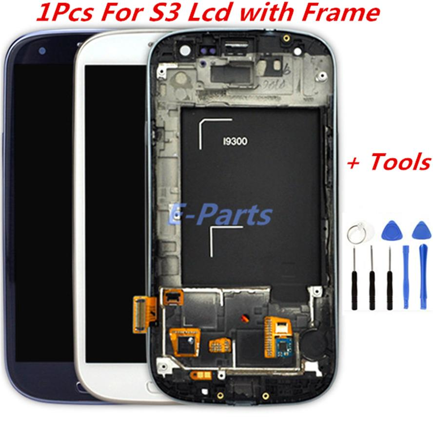 2021 For Samsung Galaxy S3 Lcd Display Screen And Digitizer Touch Screen With Logo And Frame I747 L710 T999 I535 I9300 I9305 With Open Tools From E Parts 28 71 Dhgate Com
