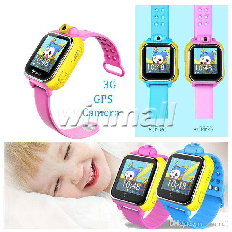 Touch screen intelligente di androide 4.2 del touch screen di 1.54 pollici del telefono cellulare 3G dell'inseguitore di GPS dei bambini Q730 per iPhone di IOS