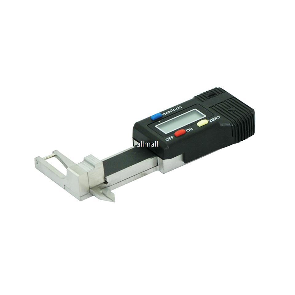 Freeshipping 0-25mm мини-карманный цифровой драгоценный камень драгоценный камень толщиномер суппорт с 0,01 мм чтения, алмазный инструмент измерения