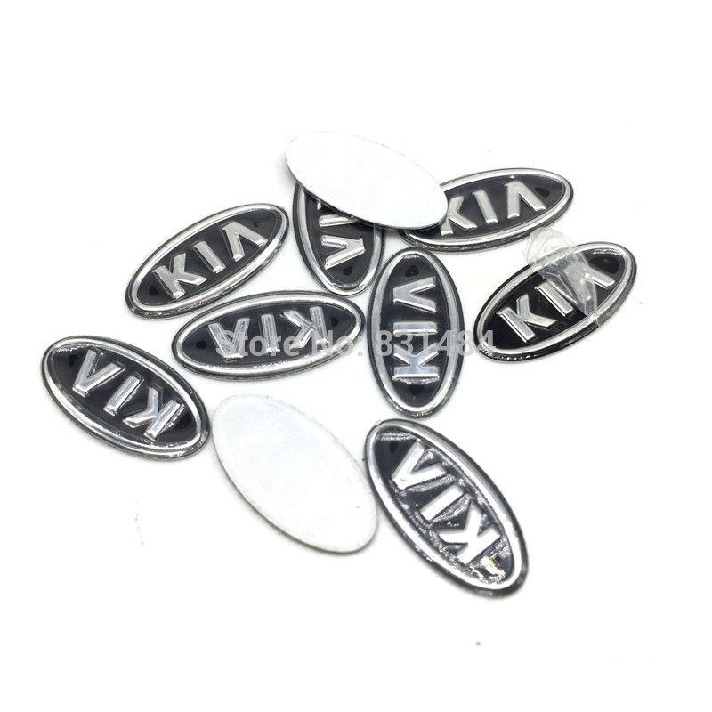 Значок fob kia Логоса сальто автомобиля 17mm kia ключевой