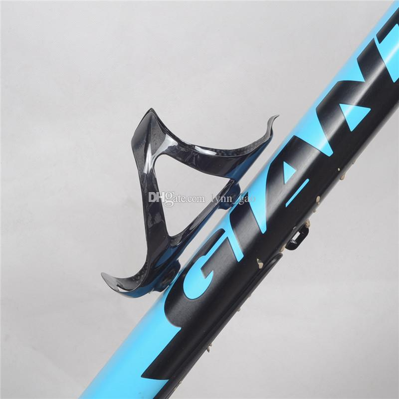 Full Carbon Fiber Bicycle Light Drink Water Bottle Cage Holder NEW Q1W8