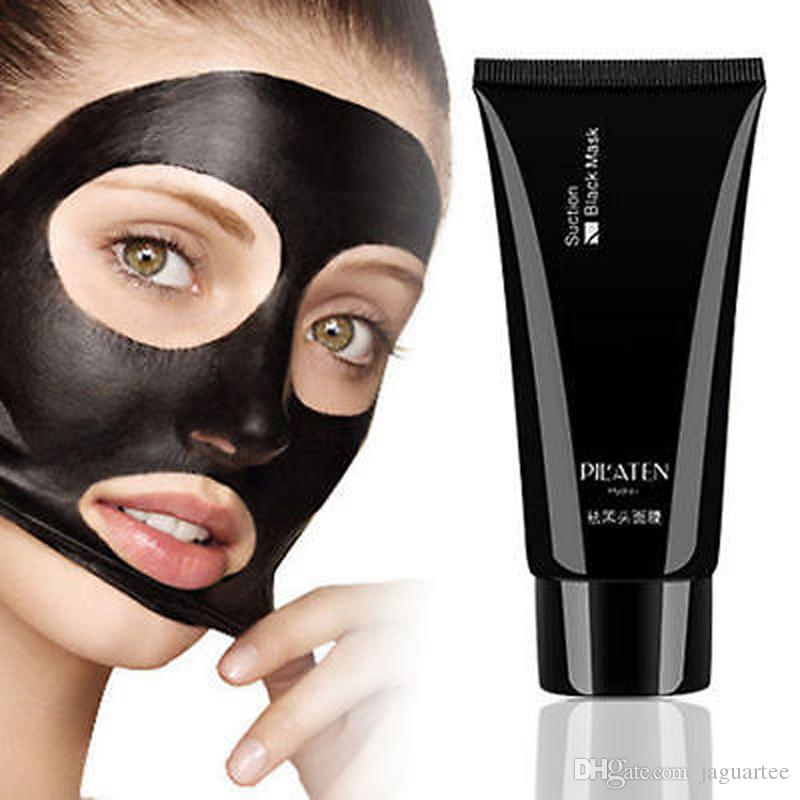 2017 fast ship PILATEN Nose / face Blackhead Remover Deep Cleansing Purifying Peel Acne Treatment Mud Black Mud Face Mask
